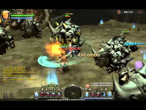 [Dragon Nest] Sword Master (New Skill System Test) - Ceberus Nest (Abyss Mode)