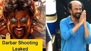 Rajinikanth Spotted At Bandra Shooting For Upcoming Film Darbar - RAJSHRITELUGU