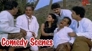 Brammanandam And Jaya Prakash Reddy Comedy Scenes || NavvulaTV - NAVVULATV