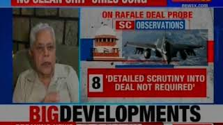 Rafale deal: SC verdict 'shocking', didn't address documented facts, says Yashwant, Shourie - NEWSXLIVE