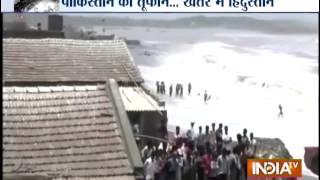 Cyclone Nilofar Targets India's Gujarat State, Southern Pakistan - INDIATV