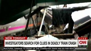NJ Train crash: focus on data, engineer - CNN