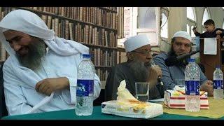 """شاهد.. أبو إسحاق الحويني يرد على إساءة """"الحسيني"""""""