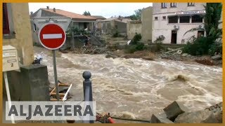 🇫🇷 Deadly flash floods hit southern France l Al Jazeera English - ALJAZEERAENGLISH