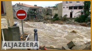 🇫🇷 Deadly flash floods hit southern France l Al Jazeera English - ALJAZEERAENGLISH