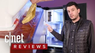 Samsung RF23M8090SG Refrigerator Review: The Salsa Moat is Dead - CNETTV