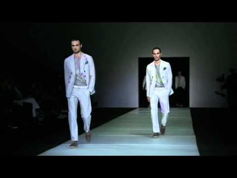 Milan Fashion Week: Giorgio Armani Men's Collection Spring Summer 2012