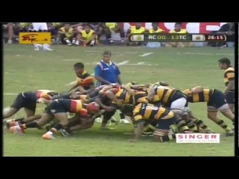 Trinity College Rugby Montage Video