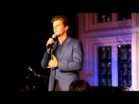 "Jonathan Groff Singing ""Dividing Day"" from The Light in the Piazza Live at The Cabaret"