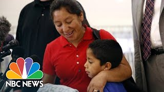 Mother Seeking Asylum Reunited With Son After Month Apart | NBC News - NBCNEWS