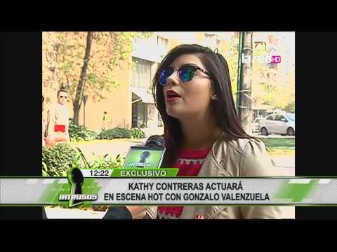 Kathy Contreras actuará en escena hot con Gonzalo Valenzuela