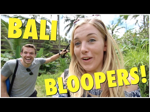 Maddie and Greg's Bali Bloopers! | Maddie Moate