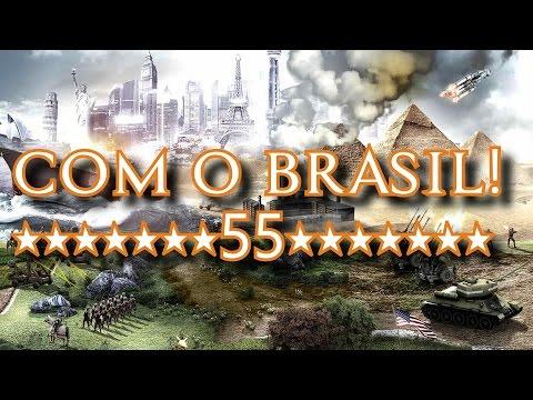 CIVILIZATION V com o Brasil #55 - GUERRA CONTRA OS ASTECAS!