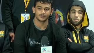 PWL 3 Day 14: Punjab Royal team briefing the Media after marking victory against Veer Marathas - NEWSXLIVE