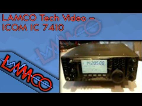 Icom IC 7410 www lamcom eu