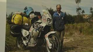 Вокруг света на мотоцикле Валерий Крышень