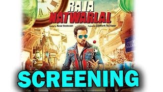 Raja Natwarlal Movie | Emraan Hashmi and Humaima Malik at the screening