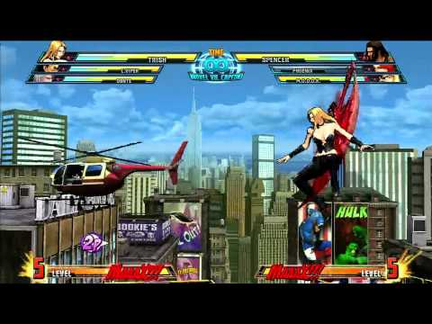 Marvel vs Capcom 3: Trish Gameplay Montage