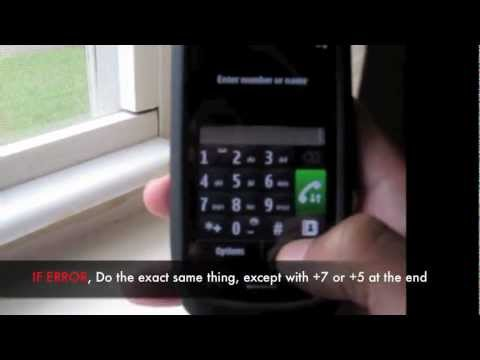 UNLOCK NOKIA C6 - How to Unlock Nokia C6 by Sim Unlocking code to any Network Instructions