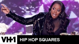 Remy Ma Judges Tiffany Haddish & Michael Rapaport's Rap Battle | Hip Hop Squares - VH1