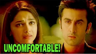 Deepika Padukone and Ranbir Kapoor not comfortable | Bollywood News