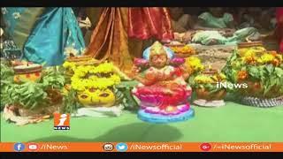 Children's Celebrate Bonalu Festival At Telangana English Medium School   Kothagudem   iNews - INEWS