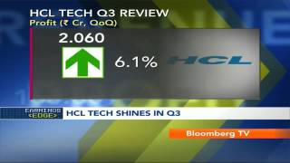 In Business- HCL Tech Q3 Profits Up 6.1% - BLOOMBERGUTV