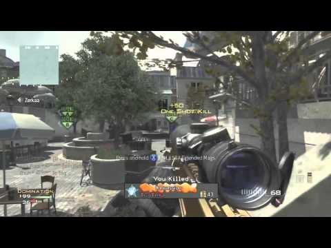 MW3 SICK Barrett Killfeed!