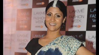 Konkona Sen at Lakme Fashion Week - BOLLYWOODCOUNTRY