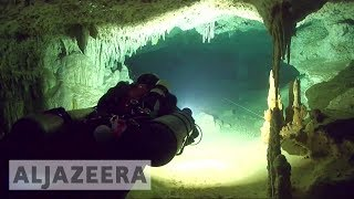 World's longest underwater cave found in Mexico 🇲🇽 - ALJAZEERAENGLISH