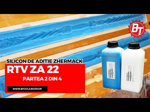 Realizare matrita flexibila din silicon RTV-ZA22  - Lumanare de cununie - Partea 2 din 4