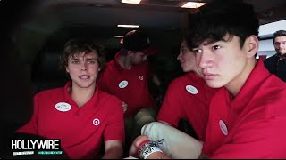 5 Seconds of Summer Go Undercover In Hilarious Prank! - HOLLYWIRETV