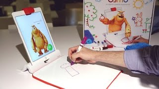 The new Monster app from Osmo turns a whiteboard and markers into digital art - CNETTV