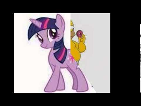 můj malý pony a simsnovi