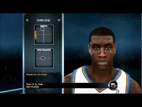 NBA 2K12 - How To Create Iman Shumpert