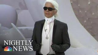 Iconic Fashion Designer Karl Lagerfeld Dies At 85 | NBC Nightly News - NBCNEWS