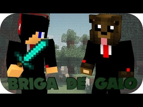 MINECRAFT - BRIGA DE GALO  [MINI-GAME]