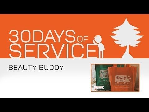 30 Days of Service by Brad Jamison: Day 13 - Beauty Buddy