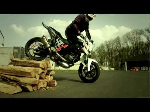 Rok Bagoros - KTM 690 Stunt Duke - The beginning
