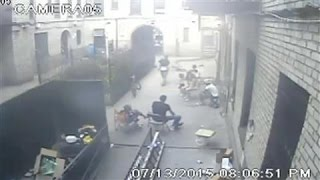 Surveillance Video Shows Gang Shooting in Brooklyn - WSJDIGITALNETWORK