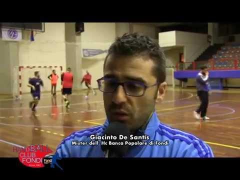 Hc BP Fondi. Intervista a Giacinto De Santis del 3 marzo 2015
