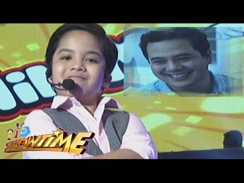 John Lloyd Cruz's MiniME on It's Showtime!