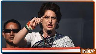 Is he 'chowkidar' or 'shehenshah' from Delhi: Priyanka Gandhi On PM Modi - INDIATV