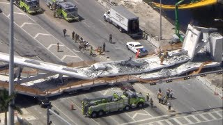 Florida International University pedestrian bridge collapses | ABC News Special Report - ABCNEWS