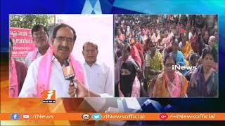I will Create With 100% Voting in Ramagundam | TRS MLA Candidate Somarapu Satyanarayana | iNews - INEWS