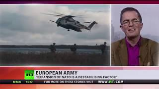 UK defence secretary blasts idea of creating EU army as 'crazy' - RUSSIATODAY