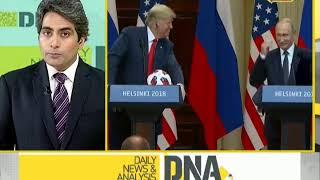 DNA: Trump and Putin meet in Helsinki - ZEENEWS