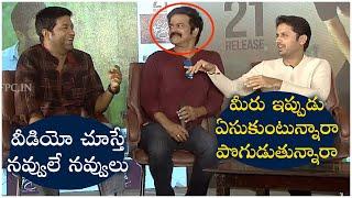 Hero Nithin and Vennela Kishore Funny Comments On Brahmaji | Beeshma Interview | TFPC - TFPC