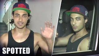 Aayush Sharma SPOTTED After His Gym Workout Session - HUNGAMA