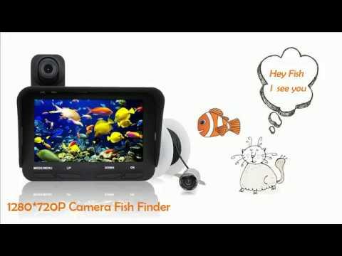 Underwater Fish Finder Camera 720P 2MP Portable Fishfinder Подводные эхолот камера